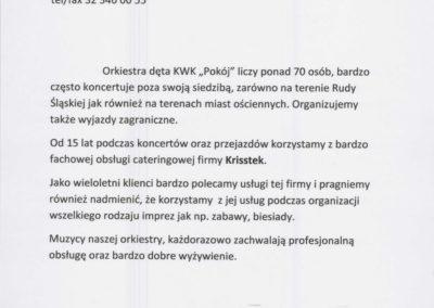 Krisstek - Referencje - zdjęcie 3