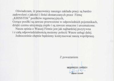 Krisstek - Referencje - zdjęcie 5