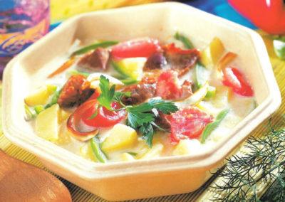 Zupa cebulowa z ziemniakami