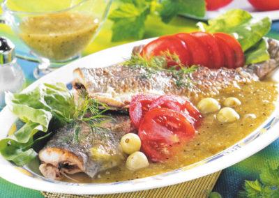 Ryba w sosie agrestowym